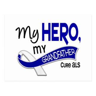 ALS My Grandfather My Hero 42 Postcard