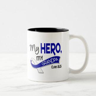 ALS My Grandpa My Hero 42 Coffee Mugs
