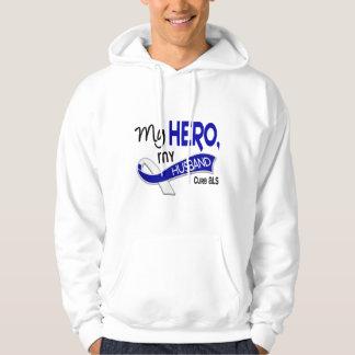 ALS My Husband My Hero 42 Hoodie