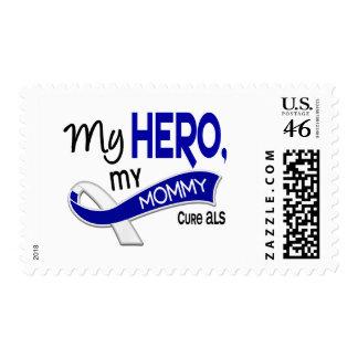 ALS My Mommy My Hero 42 Stamp