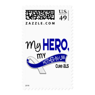 ALS My Mother-In-Law My Hero 42 Postage Stamps