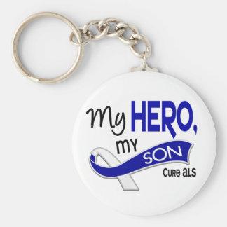 ALS My Son My Hero 42 Keychain