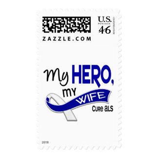 ALS My Wife My Hero 42 Postage