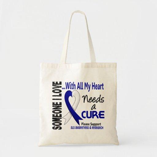 ALS Needs A Cure 3 Bag