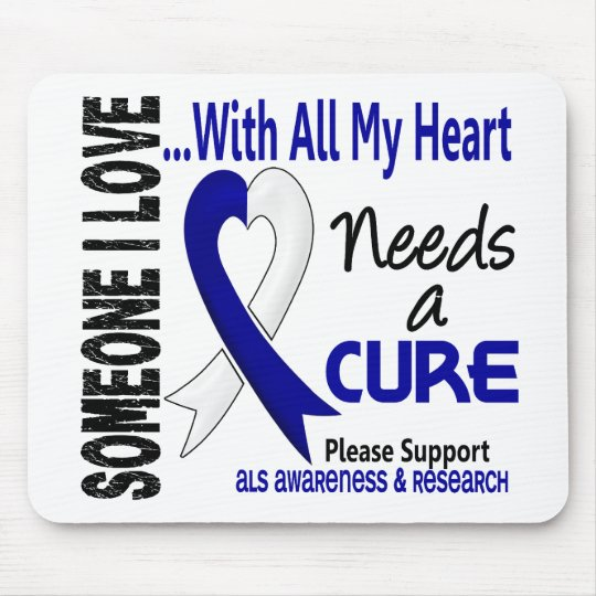 ALS Needs A Cure 3 Mouse Pad