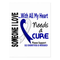 ALS Needs A Cure 3 Postcard