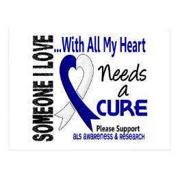 ALS Needs A Cure 3 Postcard