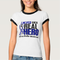 ALS Never Knew A Hero 2 Brother T-Shirt