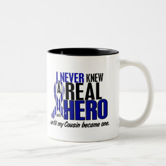 ALS Never Knew A Hero 2 Cousin Coffee Mugs
