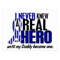 ALS Never Knew A Hero 2 Daddy Postcard