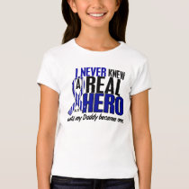 ALS Never Knew A Hero 2 Daddy T-Shirt