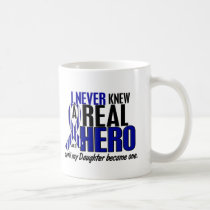 ALS Never Knew A Hero 2 Daughter Coffee Mug
