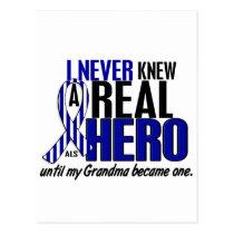 ALS Never Knew A Hero 2 Grandma Postcard