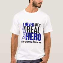 ALS Never Knew A Hero 2 Grandma T-Shirt