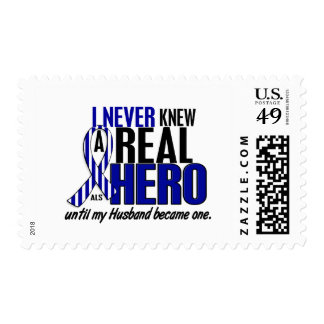 ALS Never Knew A Hero 2 Husband Postage Stamps