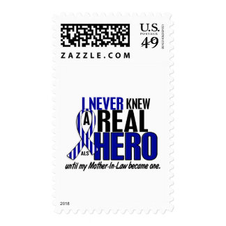 ALS Never Knew A Hero 2 Mother-In-Law Stamps