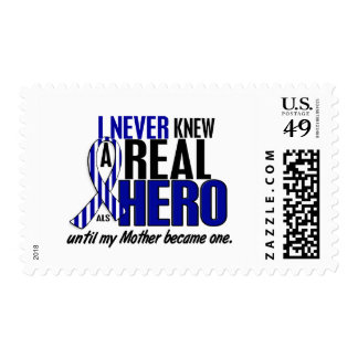 ALS Never Knew A Hero 2 Mother Stamps