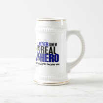 ALS Never Knew A Hero 2 Sister Beer Stein
