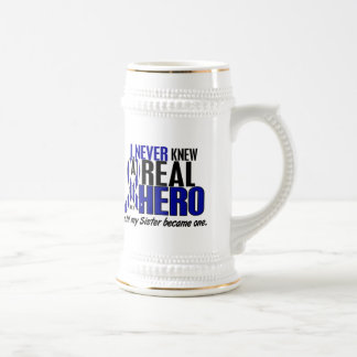 ALS Never Knew A Hero 2 Sister Mugs