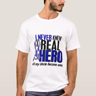 ALS Never Knew A Hero 2 Uncle T-Shirt