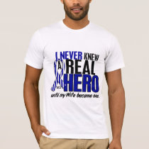 ALS Never Knew A Hero 2 Wife T-Shirt