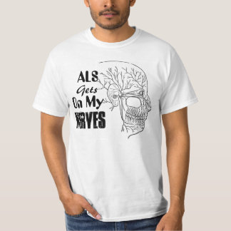 ALS Personalize Tee Shirt