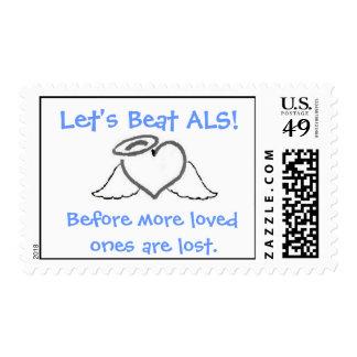 ALS Postage Stamp