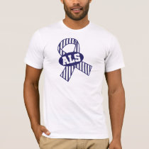 ALS Ribbon Awareness T-Shirt