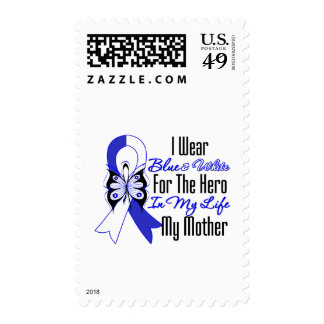 ALS Ribbon Hero in My Life My Mother Postage