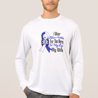 ALS Ribbon Hero in My Life My Wife Tshirts