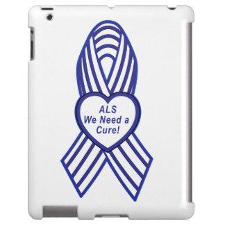 ALS Ribbon: We Need a Cure