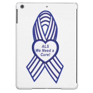 ALS Ribbon: We Need a Cure iPad Air Case