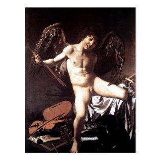 Als Sieger um 1600 de Miguel Ángel DA Caravaggio A Tarjetas Postales
