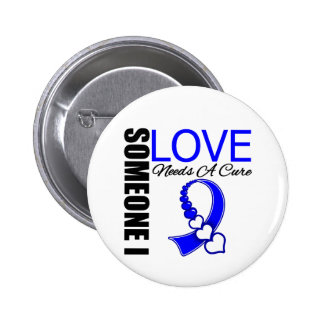 ALS Someone I Love Needs A Cure Pinback Button
