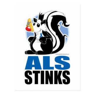 ALS Stinks Postcard