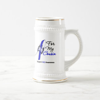 ALS Support For My Cousin Coffee Mugs