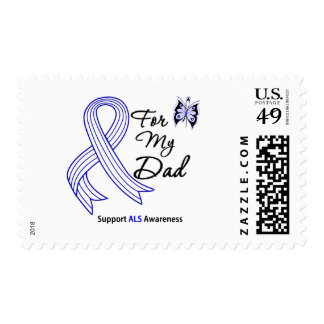 ALS Support For My Dad Stamp