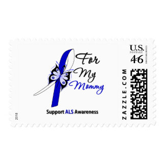 ALS Support For My Mommy Postage Stamp