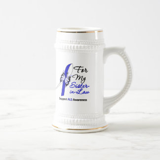 ALS Support For My Sister-in-Law Coffee Mugs