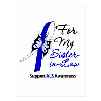 ALS Support For My Sister-in-Law Postcard
