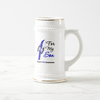 ALS Support For My Son Coffee Mugs