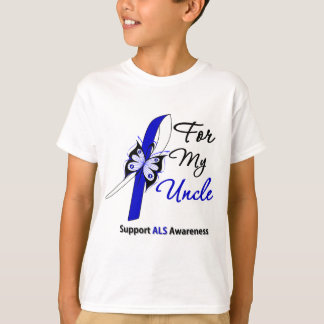 ALS Support For My Uncle T-Shirt