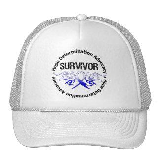 ALS Survivor Tribal Ribbon Trucker Hat