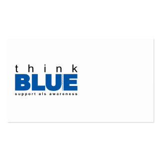 ALS Think Blue Business Card