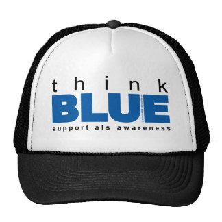 ALS Think Blue Trucker Hat