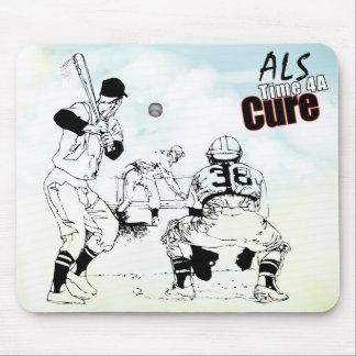 ALS time for a cure mousepad