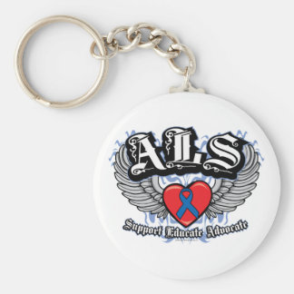 ALS Wings Keychain