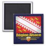 Alsace 2 Inch Square Magnet