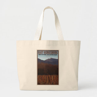 Alsace - Castle Koenigsbourg and vineyard Tote Bag