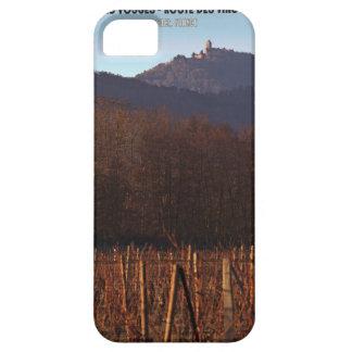 Alsace - Castle Koenigsbourg and vineyard iPhone SE/5/5s Case